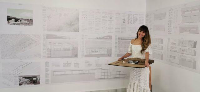 Una alumna de Arquitectura proyecta en el Puerto de la Cadena un centro de enfermedades neuromusculares - 3, Foto 3
