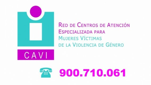 Women victims of gender violence may request an appointment at the CAVIs through the free phone