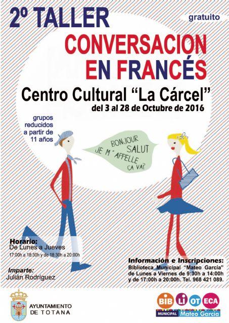 La Concejalía de Cultura organiza el II Taller de Conversación en Francés para niños y jóvenes, Foto 1