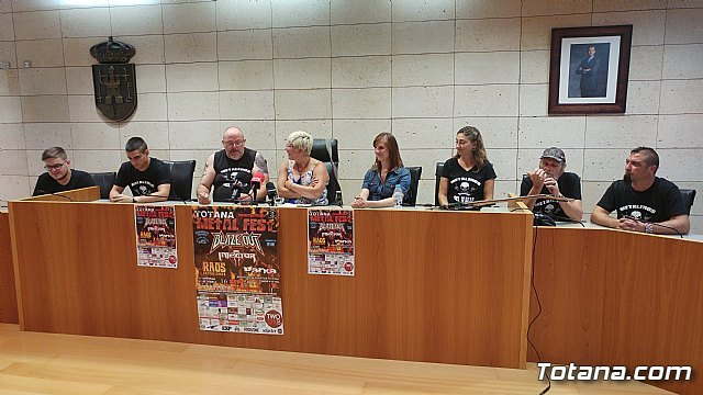 "Totana will celebrate the September 16 charity concert ""Metal Fest"", with the participation of four reference groups - 2"