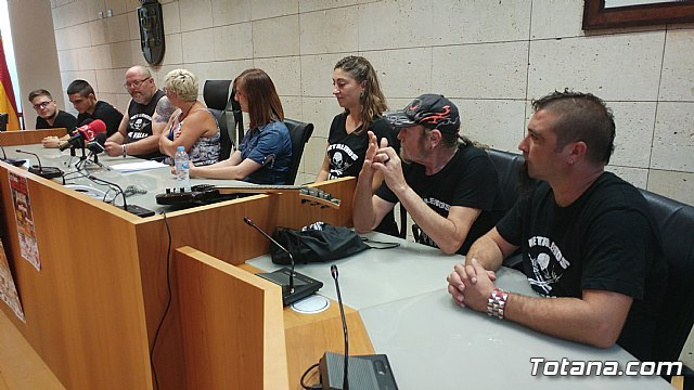 "Totana will celebrate the September 16 charity concert ""Metal Fest"", with the participation of four reference groups - 3"