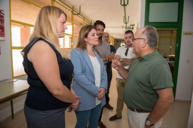 La directora general de Calidad Educativa visita el CEIP Bahía en el inicio del curso escolar, Foto 4