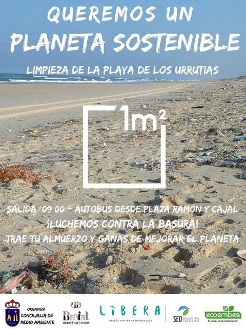 """El Ayuntamiento de Beniel se suma al proyecto """"Libera"""" , una iniciativa cuyo objetivo es mantener libres de basura los espacios naturales - 1, Foto 1"""