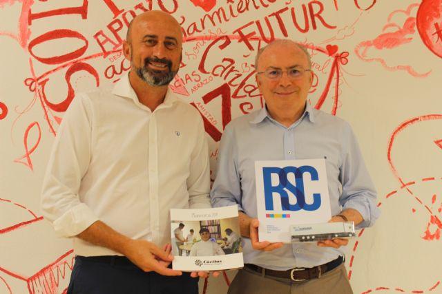 Disfrimur renueva su compromiso con Cáritas dentro de su RSC - 1, Foto 1