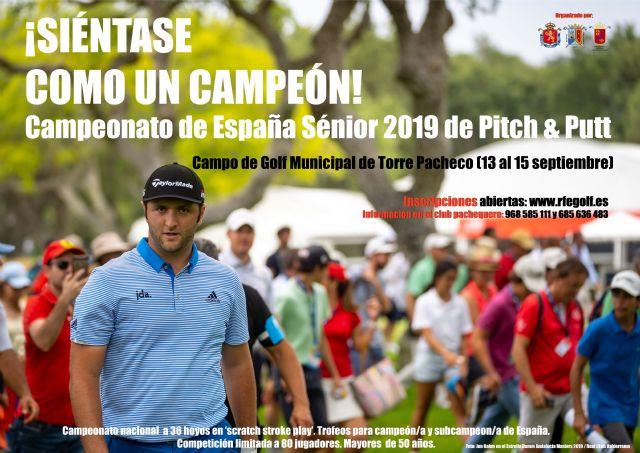 El Club de Golf de Torre Pacheco organiza el Campeonato de España Individual Sénior Masculino y Femenino de Pitch and Putt 2019. - 3, Foto 3