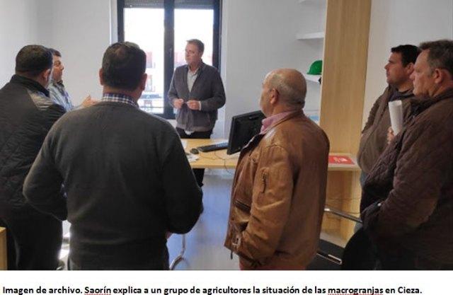 Saorín informa de tres solicitudes de licencia de obras para macro granjas porcinas - 1, Foto 1