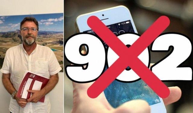 Saorín considera un paso importante que se modifique la ley para prohibir los 902 - 1, Foto 1
