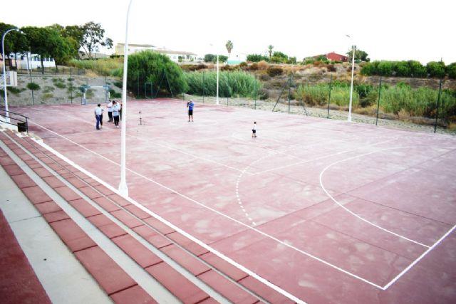 La Majada ya disfruta de su pista deportiva remodelada - 1, Foto 1