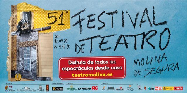 El Ayuntamiento de Molina de Segura suscribe sendos convenios de patrocinio del Festival de Teatro con Estrella de Levante y Auxiliar Conservera - 1, Foto 1