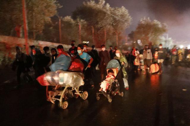 Incendio en el campo de refugiados de Moria, una tragedia anunciada - 1, Foto 1