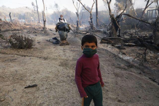 Incendio en el campo de refugiados de Moria, una tragedia anunciada - 3, Foto 3