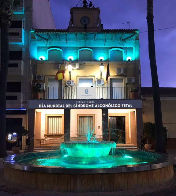 Las Torres de Cotillas se suma a la conmemoración del Día Mundial del Síndrome Alcohólico Fetal - 2, Foto 2