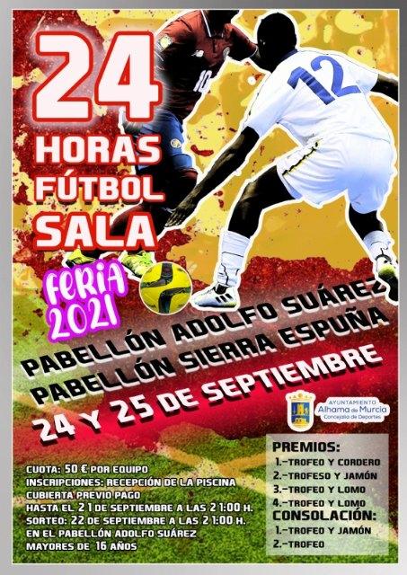 24 horas de Fútbol Sala Feria 2021, Foto 2