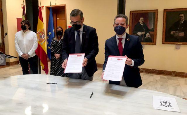Lorquí se convierte en sede permanente de la Universidad de Murcia - 1, Foto 1