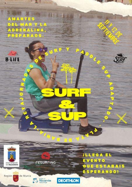 Se presentan las jornadas de surf y paddle sup adaptados que se celebrarán en la playa de Ia Reya - 2, Foto 2