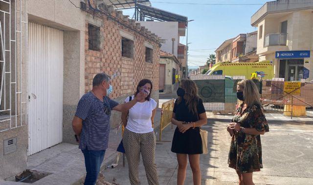 Comienzan las obras de renovación de las infraestructuras urbanas de la calle Pablo Neruda - 1, Foto 1