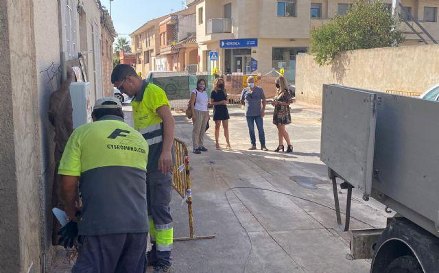 Comienzan las obras de renovación de las infraestructuras urbanas de la calle Pablo Neruda - 2, Foto 2