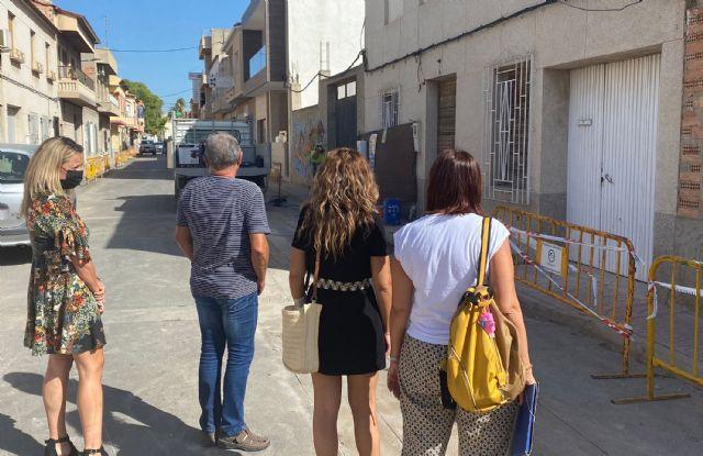 Comienzan las obras de renovación de las infraestructuras urbanas de la calle Pablo Neruda - 3, Foto 3