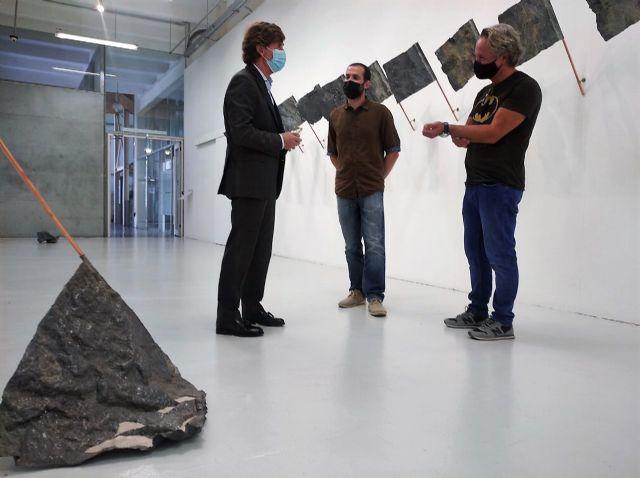 La instalación escultórica 'Estado' del artista Cristóbal Hernández abre la programación del Párraga con su investigación sobre el contacto - 1, Foto 1
