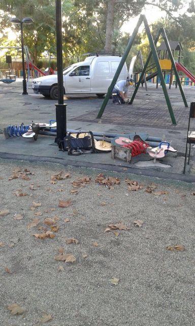 Queda cerrada desde hoy el área de juegos infantiles del parque municipal, Foto 3