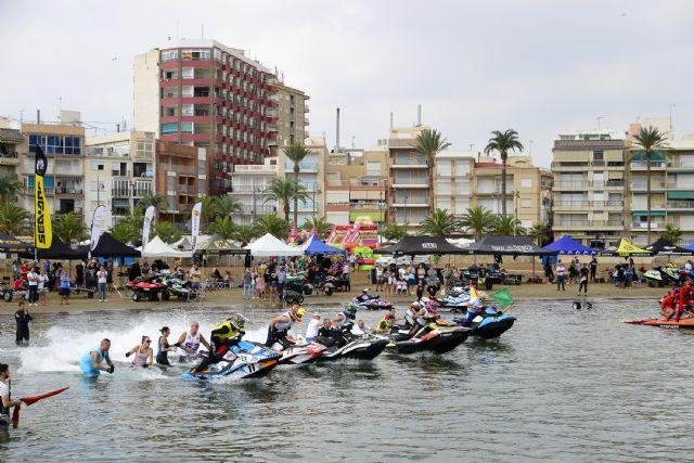 Mazarrón pone el broche de oro al Campeonato de España de motos de agua, Foto 3