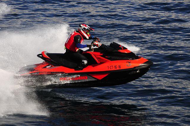 Mazarrón pone el broche de oro al Campeonato de España de motos de agua, Foto 4