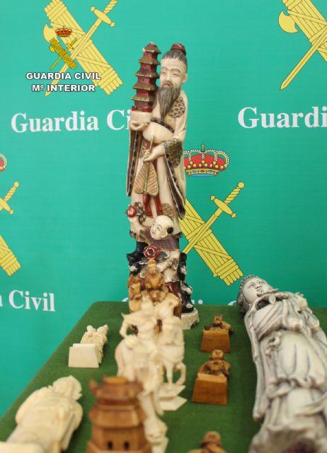 La Guardia Civil interviene varias piezas de marfil y ébano en Torre Pacheco - 4, Foto 4