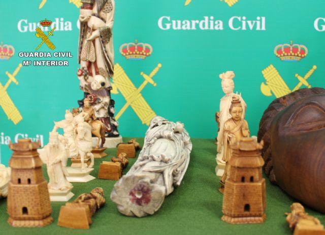 La Guardia Civil interviene varias piezas de marfil y ébano en Torre Pacheco - 5, Foto 5