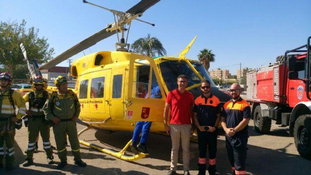 El Ayuntamiento agradece la labor antiincendios de los voluntarios de Protección Civil, Foto 1