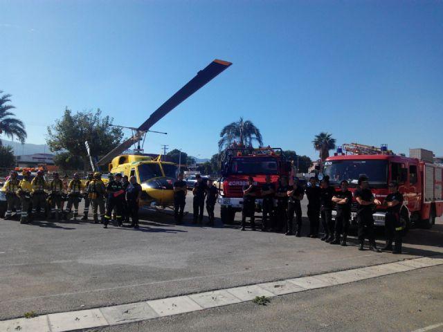 El Ayuntamiento agradece la labor antiincendios de los voluntarios de Protección Civil, Foto 3