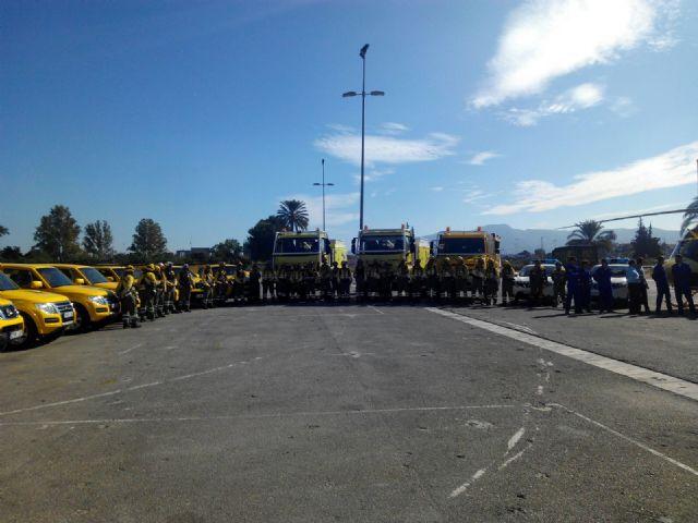El Ayuntamiento agradece la labor antiincendios de los voluntarios de Protección Civil, Foto 4
