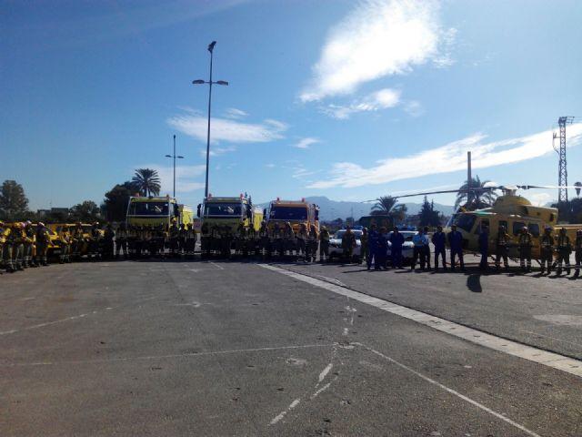 El Ayuntamiento agradece la labor antiincendios de los voluntarios de Protección Civil, Foto 5
