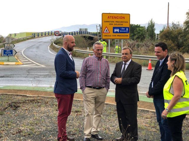 La Región cuenta con 247 kilómetros de carreteras de itinerarios ciclistas señalizados, Foto 1