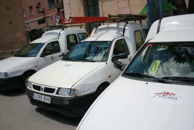 File is initiated to contract the insurance policy of the vehicle fleet of the Totana City Council, Foto 3