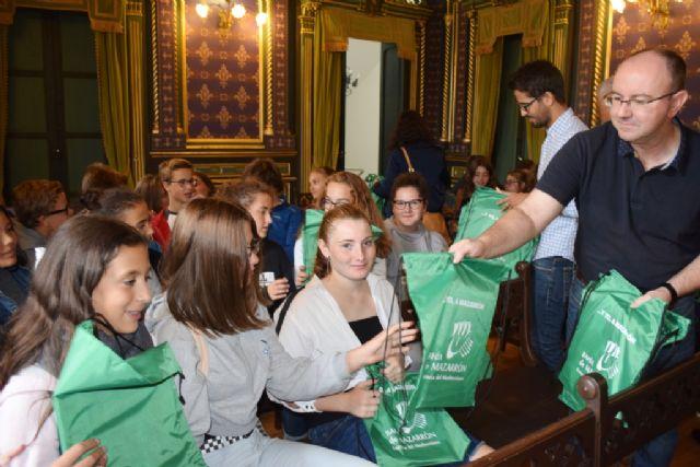 36 alumnos franceses visitan Mazarrón fruto de un intercamio con el IES Domingo Valdivieso, Foto 1