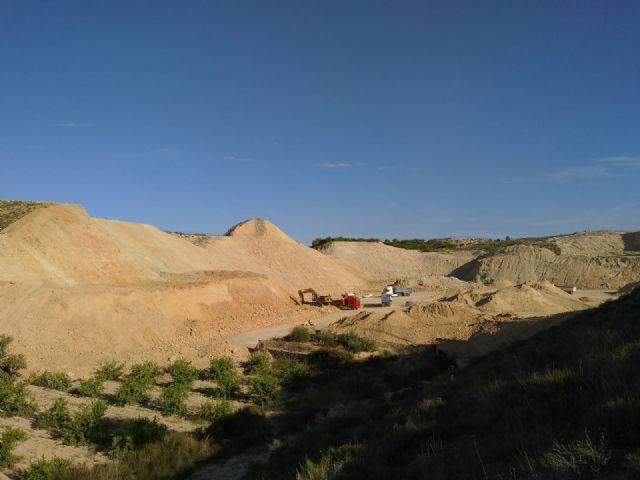 Denuncian la extracción de áridos en Zeneta - 2, Foto 2