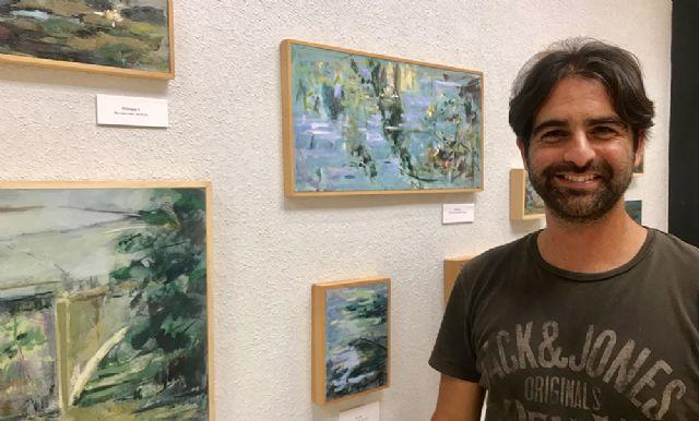 Los paisajes del artista Marco Gomariz llenan de alma las paredes del Ayuntamiento de Lorquí - 4, Foto 4