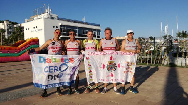 El Club Cuatro Santos Cartagena participará este domingo en la maratón de Múnich - 1, Foto 1