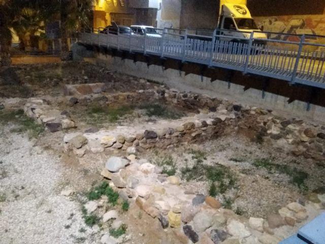 Patrimonio Histórico cumple con el mantenimiento de los yacimientos del municipio, Foto 1