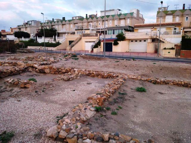 Patrimonio Histórico cumple con el mantenimiento de los yacimientos del municipio, Foto 2