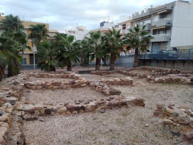 Patrimonio Histórico cumple con el mantenimiento de los yacimientos del municipio, Foto 3