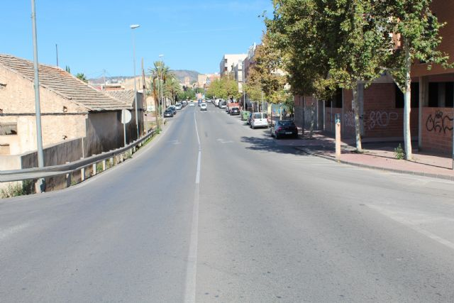 They study regulating traffic by traffic signaling in the urban section of Mazarrón Avenue - 1
