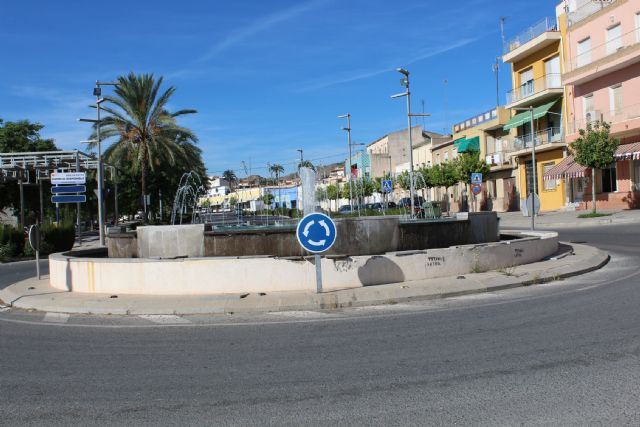 They study regulating traffic by traffic signaling in the urban section of Mazarrón Avenue, Foto 2