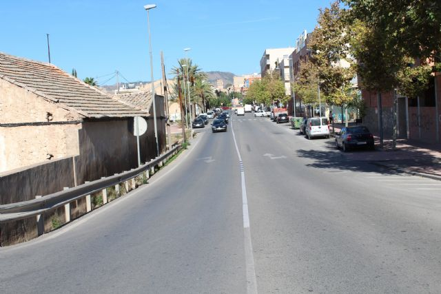 They study regulating traffic by traffic signaling in the urban section of Mazarrón Avenue, Foto 3