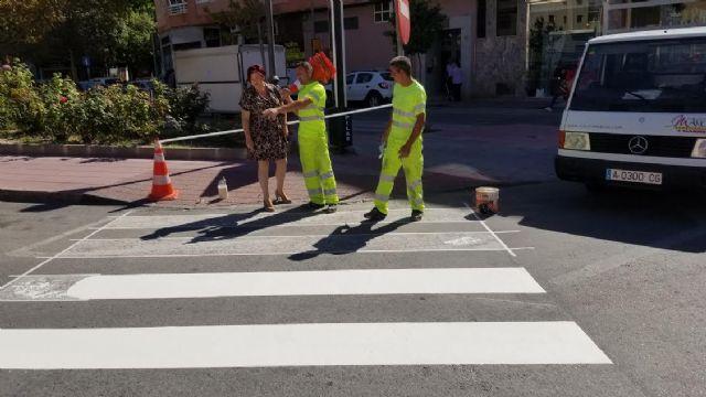 El Ayuntamiento de Molina de Segura invierte 60.000 euros en actuaciones de mejora de la seguridad vial en el entorno de centros educativos - 1, Foto 1
