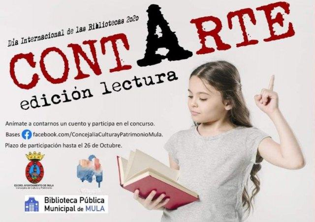 Cultura y la Biblioteca Pública convocan el concurso 'Contarte' con motivo del Día Internacional de las Bibliotecas - 1, Foto 1