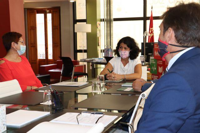 Reunión alcaldesa con la consejera de Administración Pública - 1, Foto 1