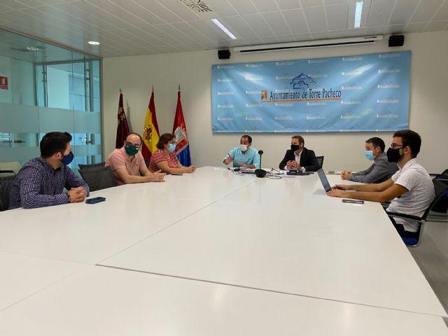 El Alcalde de Torre Pacheco se reúne con el Gerente de COGERSOL - 1, Foto 1