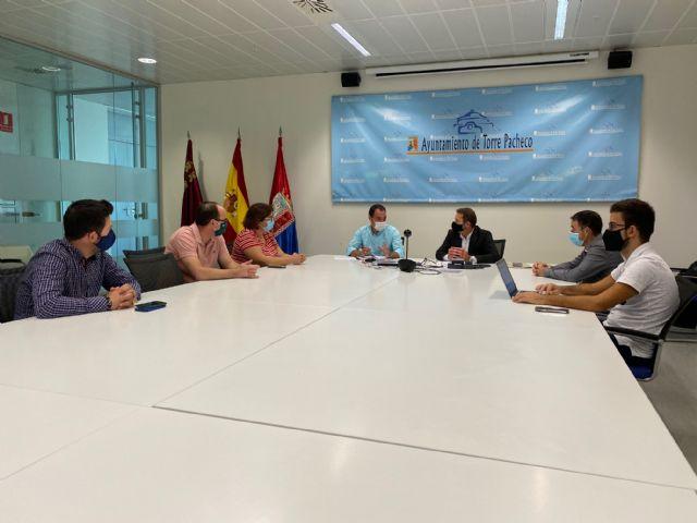 El Alcalde de Torre Pacheco se reúne con el Gerente de COGERSOL - 2, Foto 2