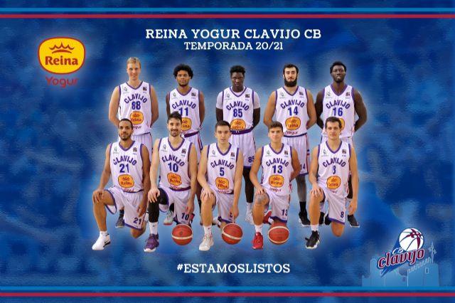 Reina Yogur patrocinador oficial del Club Baloncesto Clavijo CB - 1, Foto 1